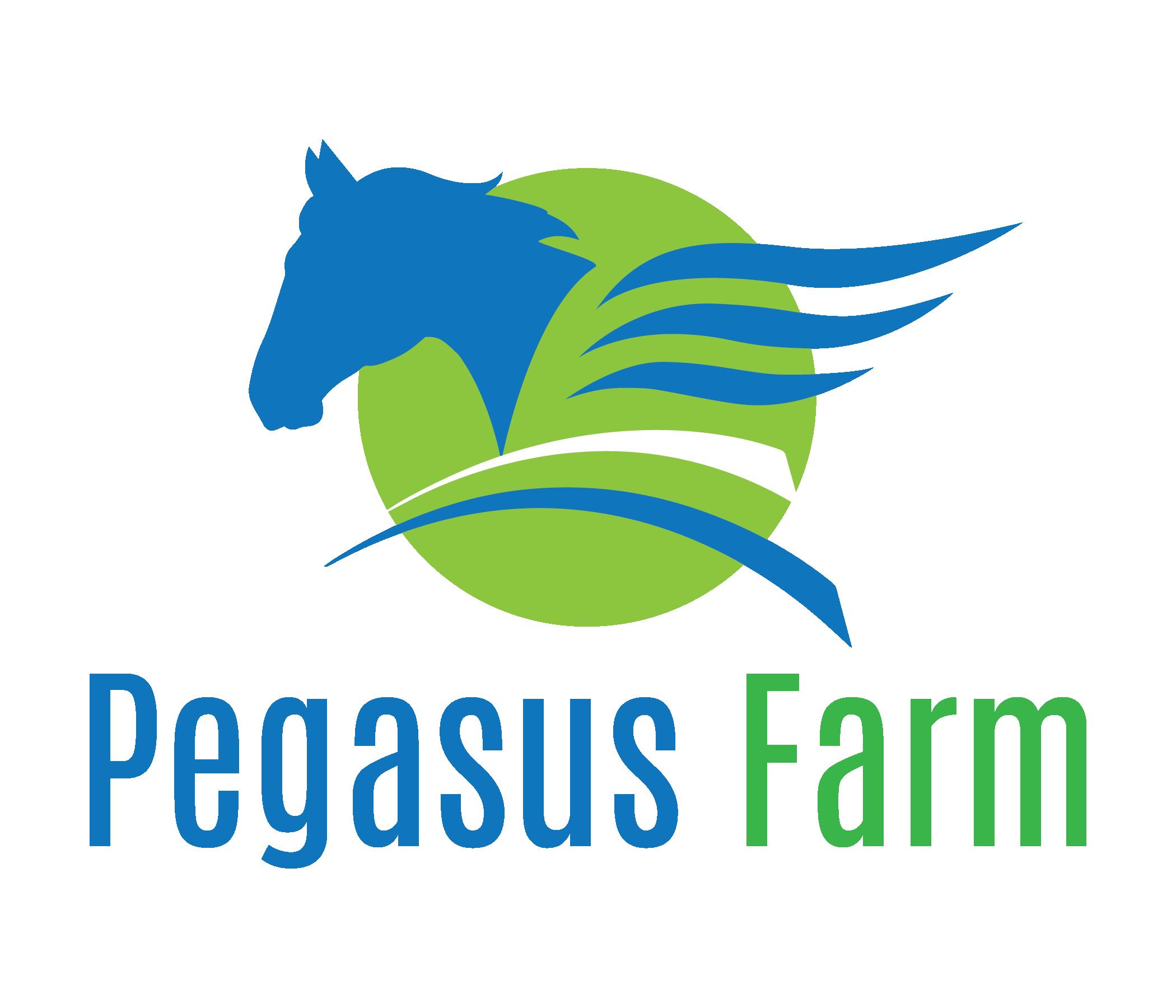 PEG FARMS Horse Logo RGB HiRes - Pegasus Farm Country Store And Gardens