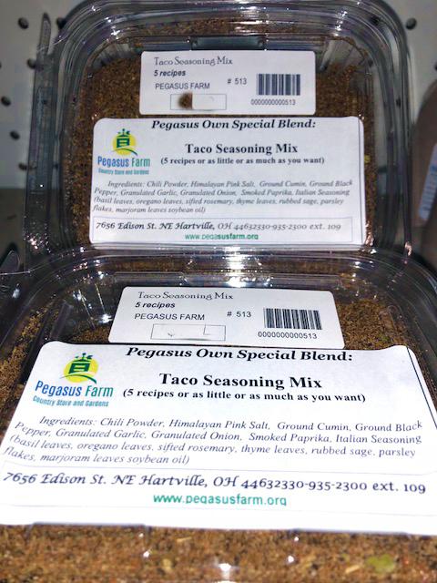 Taco%20Seasoning - Pegasus Farm Country Store And Gardens